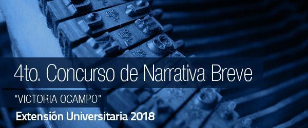"""4to. Concurso de Narrativa Breve """"Victoria Ocampo"""""""